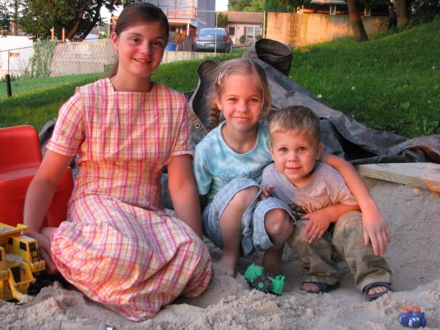 Tamara Fox (Brian's daughter), Whitney & Jacobb Petersheim (Daryl's daughter and son)