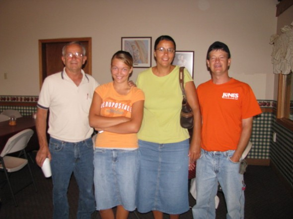 Hank Knepp, Rachel, Joanna, and Jason Knepp