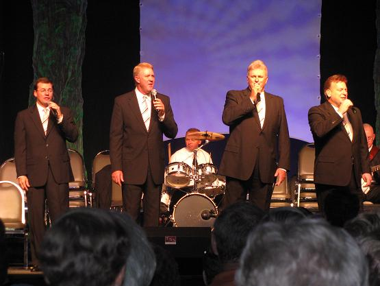 "The Kingdom Heirs, from Pigeon Forge, TN, singing ""The Empty Tomb Says It All""."