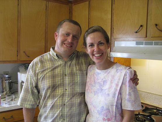Jeremy and Vanita Sensenig hosted us for a relaxing, enjoyable afternoon.