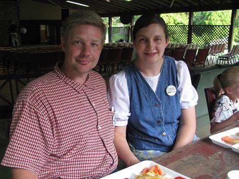 Camp Directors (doing a phenomenal job), Arthur and Lorinda Dexter